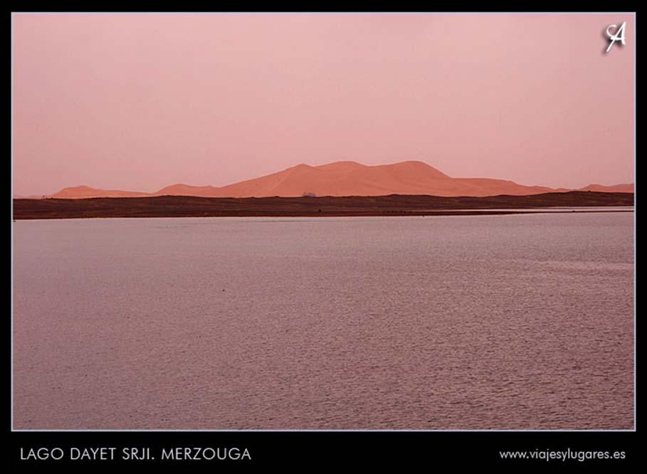 lago Dayet Srji o lago de los flamencos