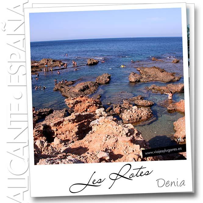 Playa de les Rotes, Denia, Alicante