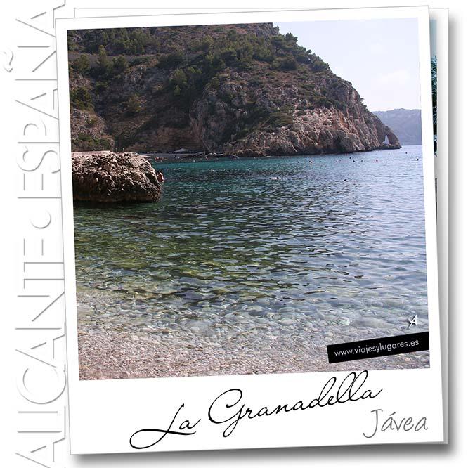Cala de La Granadella, Jávea, Alicante, España
