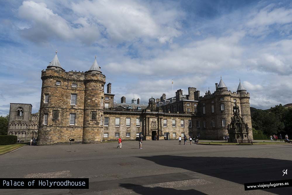 Palacio de Holyroodhouse. Edinburgh