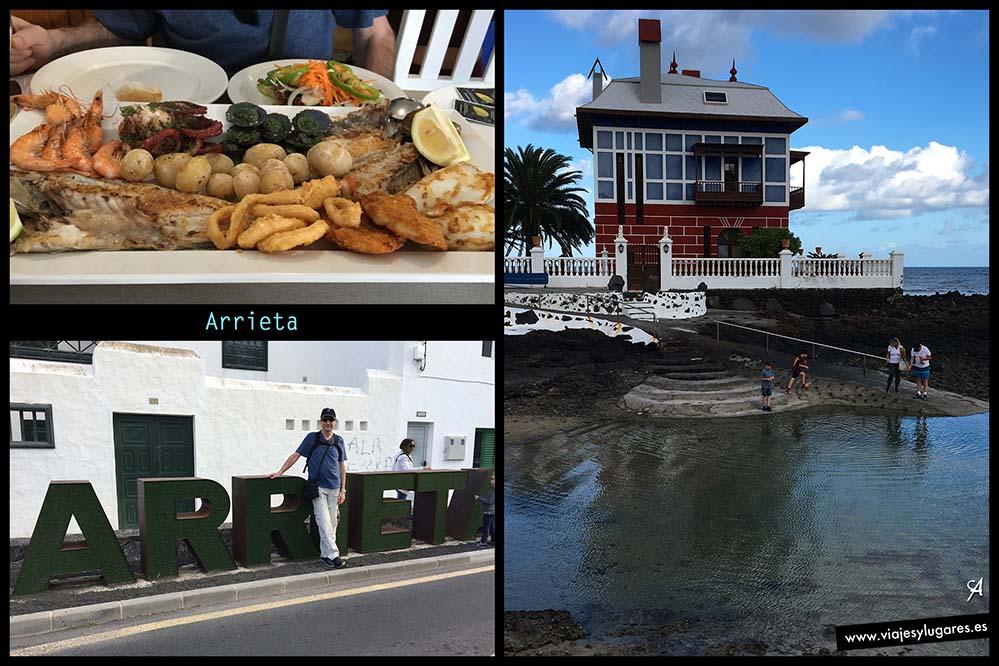Arrieta pueblo costero con encanto