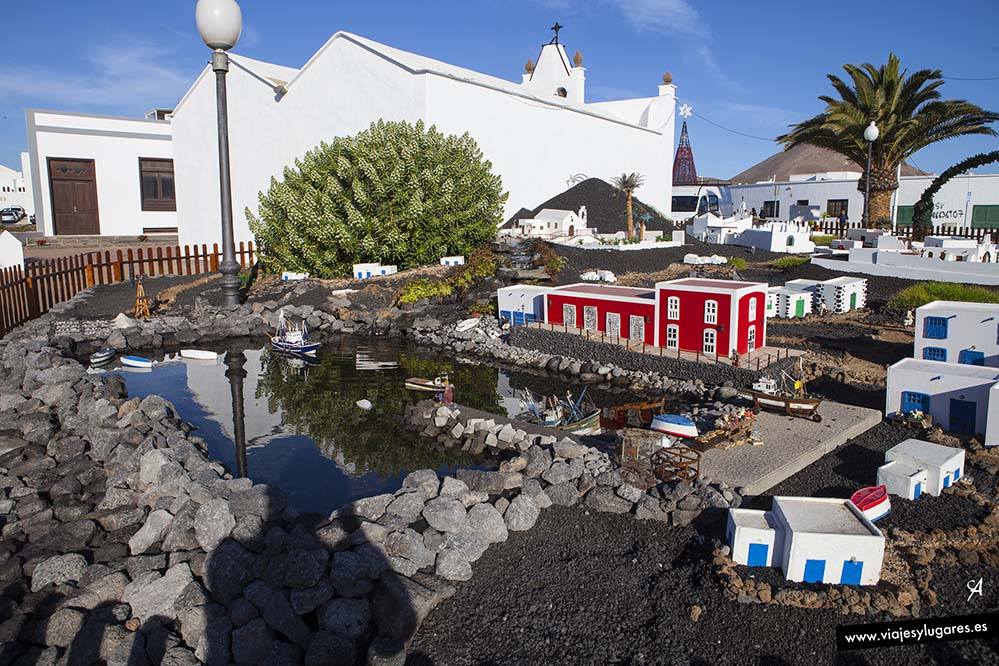 El belén en Tías en Lanzarote, Canarias
