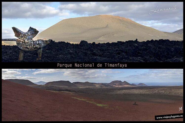 Parque Nacional de Timanfaya. Lanzarote