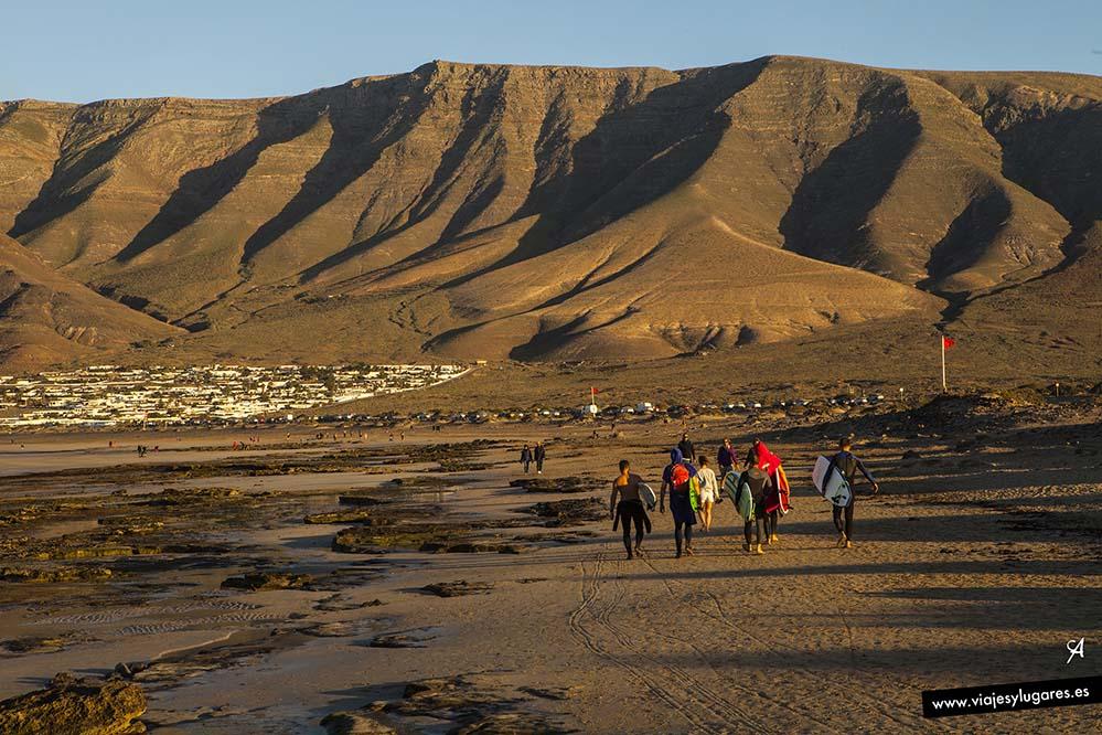 Los Riscos de famara, Lanzarote