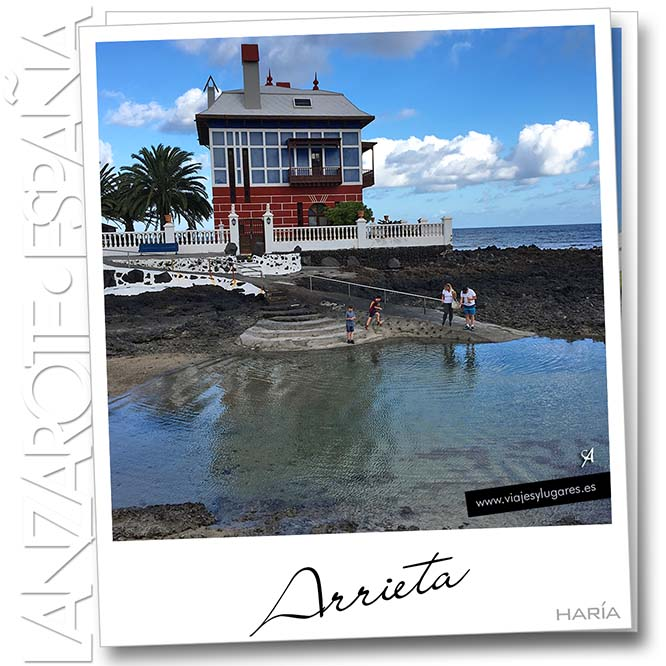 Arrieta. Haria. Lanzarote. España