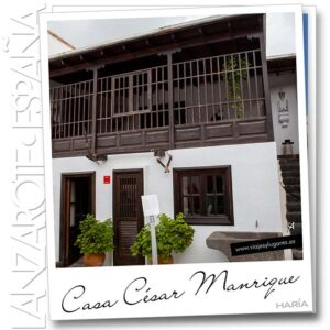 Casa-MuseoCésar Manriqueen Lanzarote