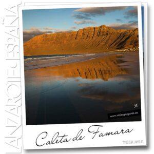 Diario de viaje de Lanzarote: Caleta de Famara