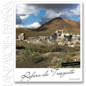 Diario de viaje de Lanzarote: Rofera de Teseguite