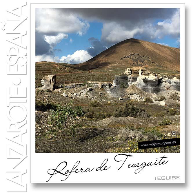 Rofera de Teseguite, Lanzarote, Canarias