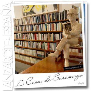 Casa de Saramago en Tías, Lanzarote