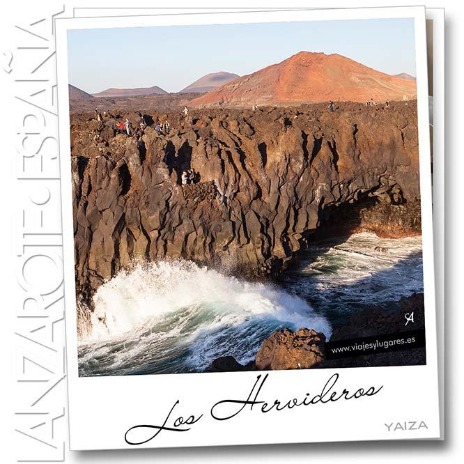 Los Hervideros. El Golfo. Yaiza. Lanzarote