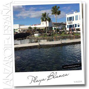 Playa Blanca en Yaiza, Lanzarote