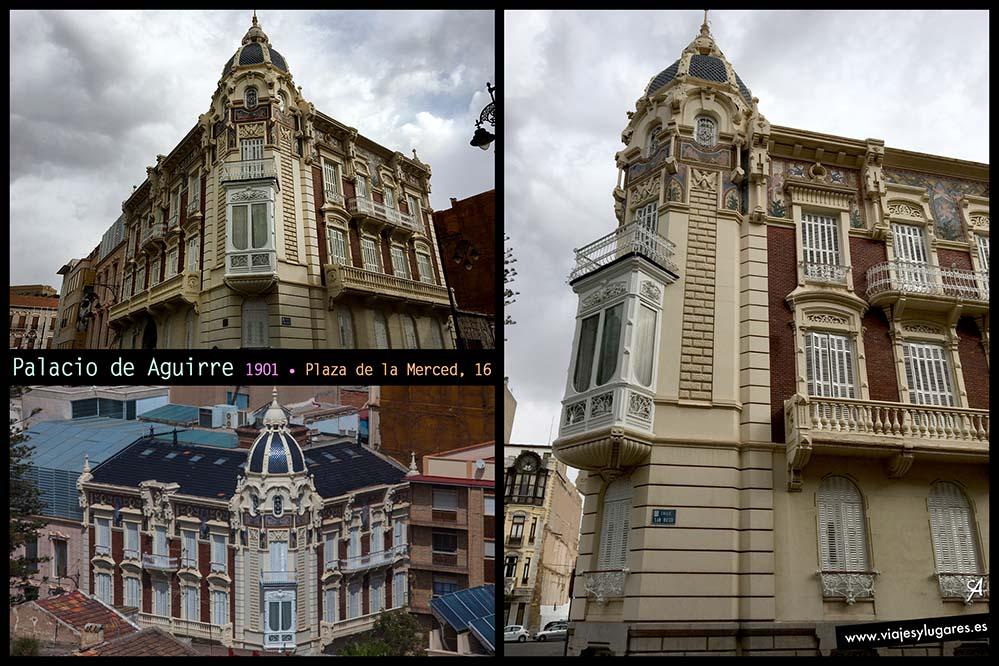Guía breve de Cartagena. Palacio de Aguirre
