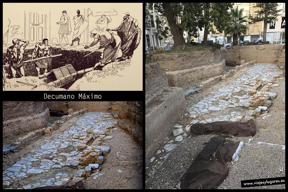 Decumano Maximo • Plaza de la Merced