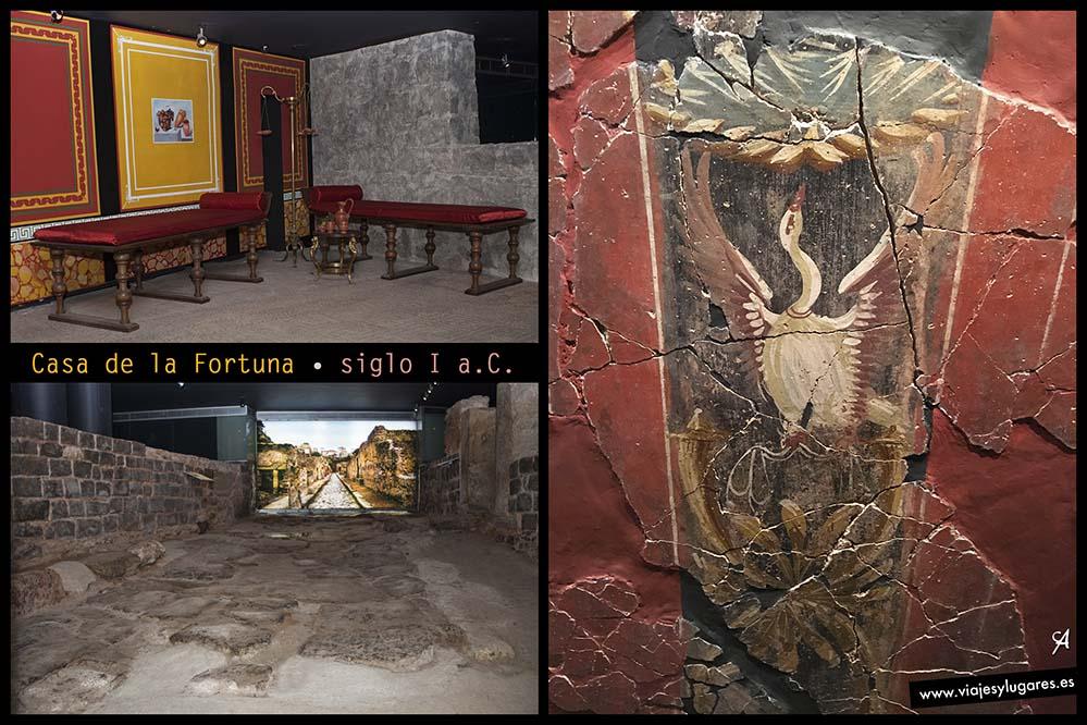 Casa de la Fortuna. Cartagena romana