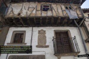 Casa de Félix Mesón Gómez. Garganta de la Olla. Valle de la Vera
