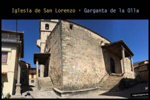 Iglesia de San Lorenzo. Garganta de la Olla. Valle de la Vera