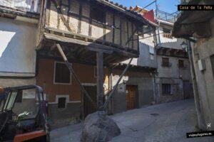 Casa de la Peña. Garganta de la Olla. Valle de la Vera