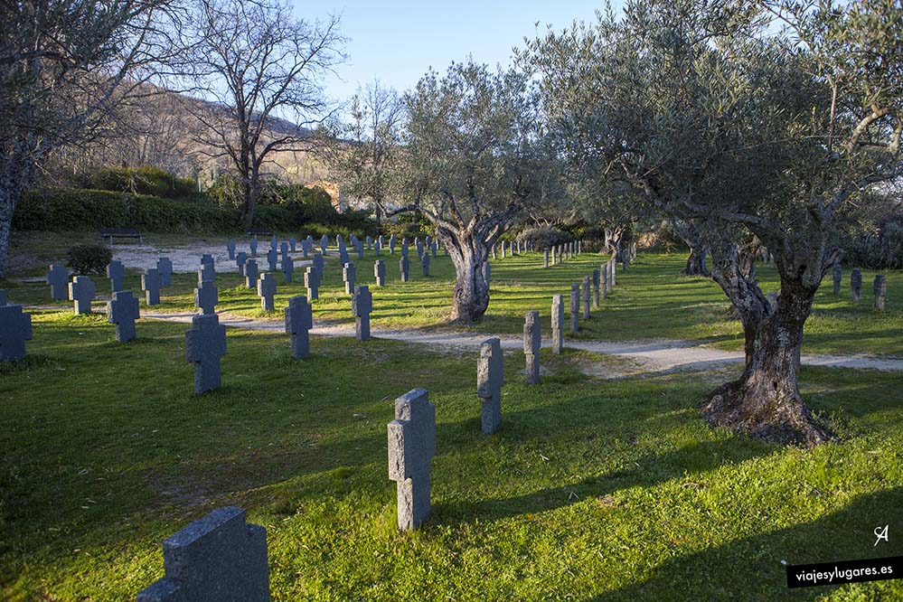 Cementerio alemán • Cuacos de Yuste • Valle de la Vera • Cáceres • España