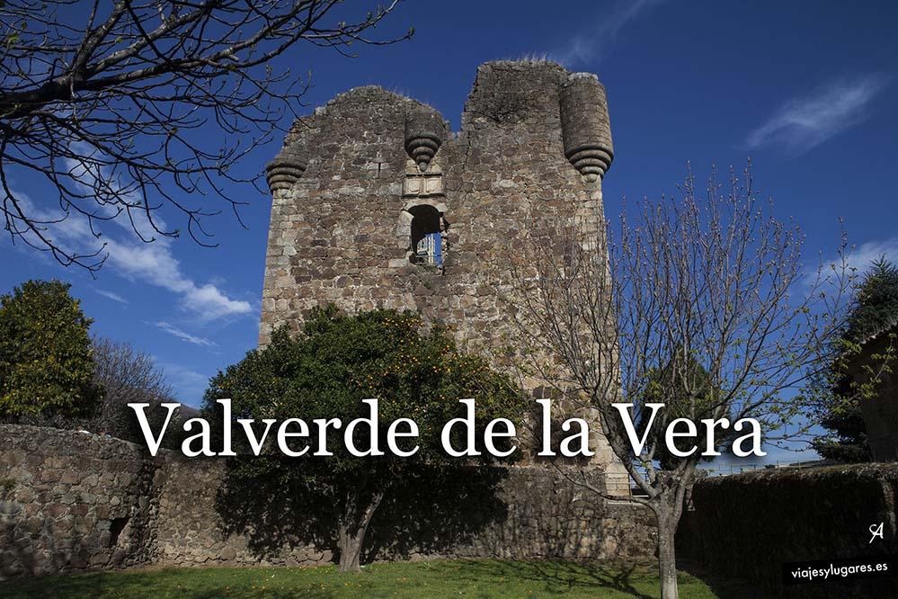 Castillo de los Condes de Nieva. Valverde de la Vera