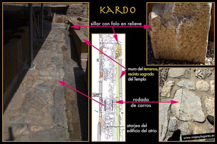 Parque arqueológico El Molinete en Cartagena