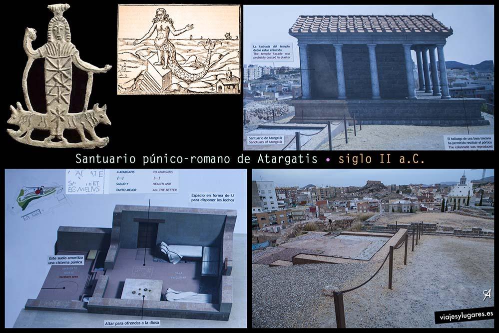 Santuario romano-republicano. El Molinete