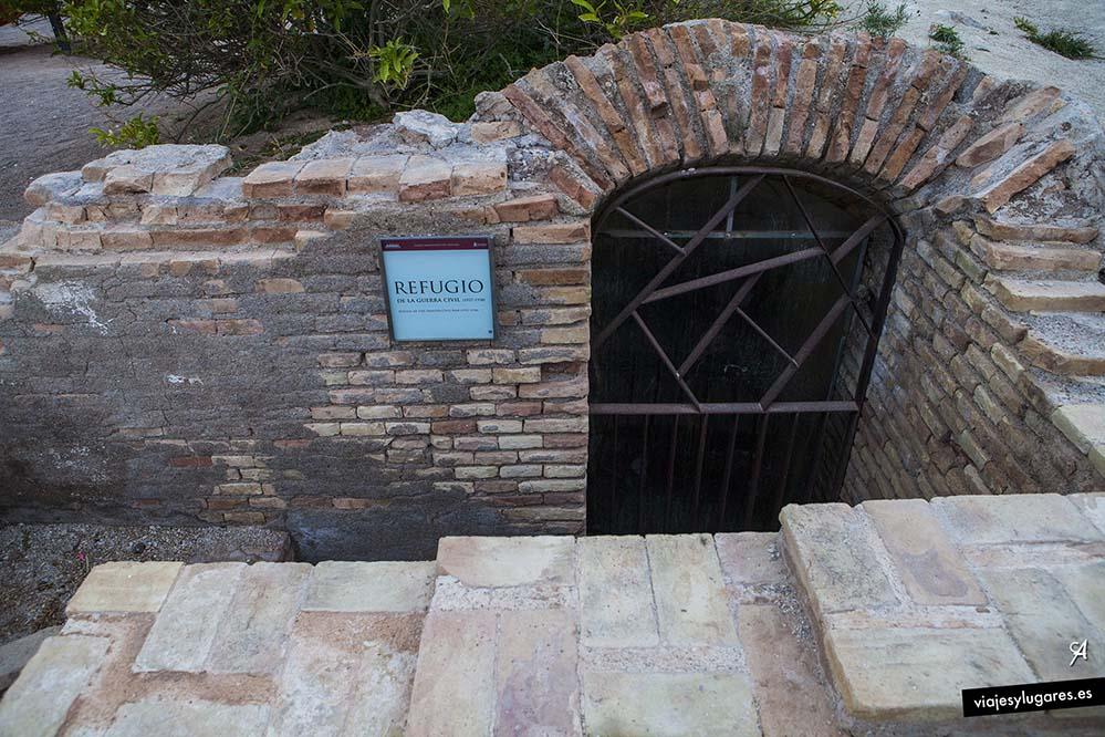 Refugio de la Guerra Civil Española. El Molinete