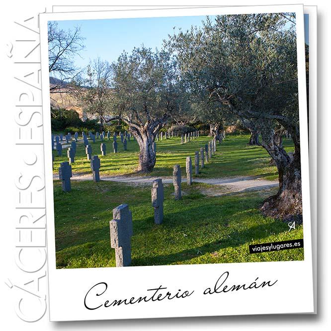 Cementerio alemán en Cuacos de Yuste