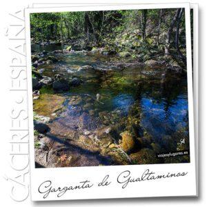 Piscina natural Garganta de Gualtaminos