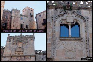 Palacio de los Golfines de Abajo. Cáceres