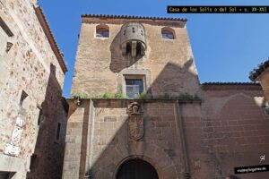 Casa de los Solís. Cáceres