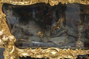 reliquias del mártir San Clemente