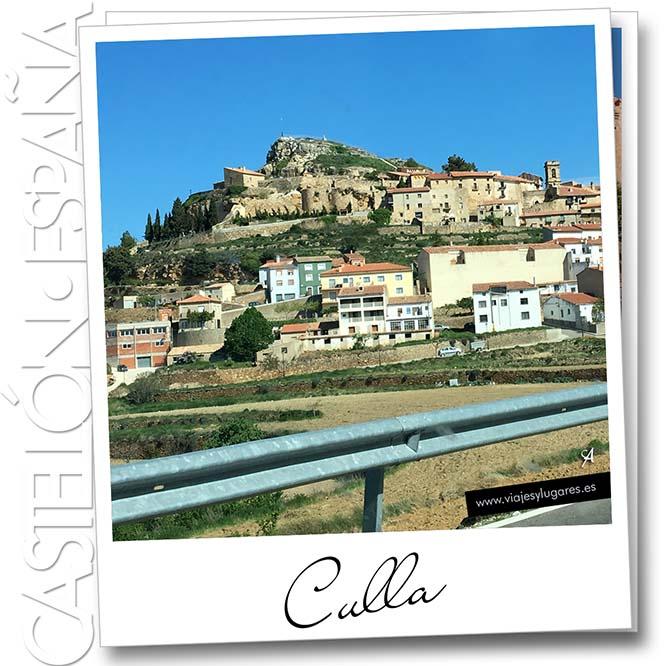 El pueblo de Culla en Castellón