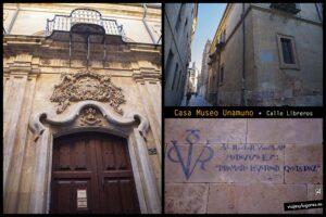 Casa-museo Unamuno. Calle Libreros. Salamanca