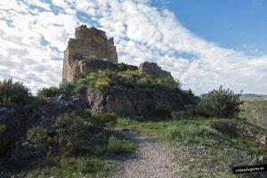 Ruinas del castillo de Los Murones en Gestalgar, Valencia