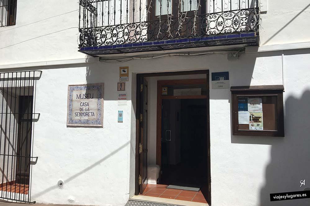 Museo de la Senyoreta. C/ del Santísimo Cristo. Calpe