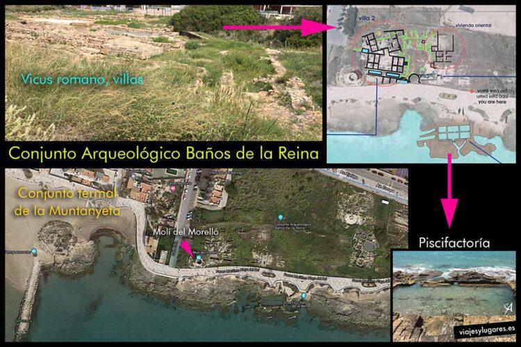 Conjunto arqueológico Baños de la Reina. Calpe