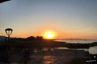 Atardecer en Es Caló. Formentera