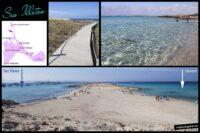 Playa, Ses Illetes, llevant, es trucadors, Formentera