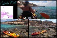 Kayak, Caló d'es Mort, Formentera