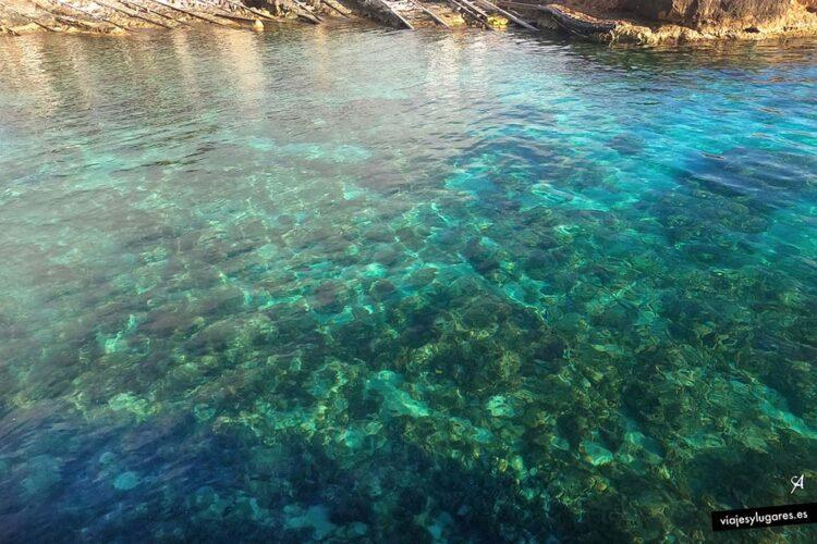 Puerto de Es caló, Formentera