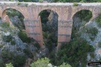 Acueducto romano de Chelva. Valencia