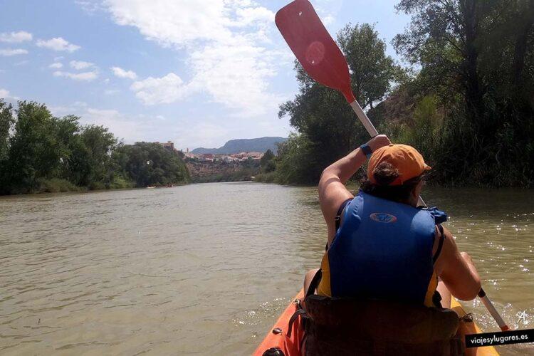 Descenso del río Cabriel en Kayak. Cofrentes